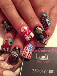 wow look at those nfr nails no stickers even nailsbylandi