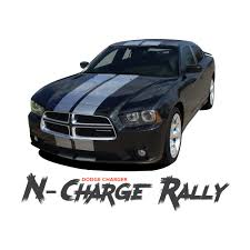 dodge charger graphics dodge charger n charge rally racing stripes 10 inch vinyl graphics