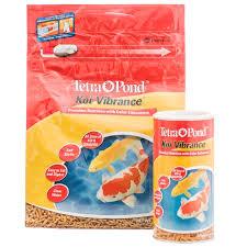 tetra pond tetra pond koi vibrance premium nutrition with color