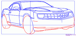 how to draw a camaro step by step cars draw cars online