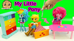 dollar tree doll house furniture my little pony inspired painting