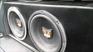 2 rockford fosgate punch power dvc 10s on a punch 800a2 youtube