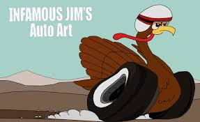 thanksgiving infamous jims auto sketches designs