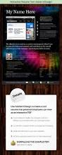 Resume Indesign Template Interactive Resume From Adobe Indesign By Kilik Graphicriver