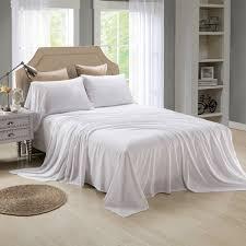 soft bed sheets honeymoon extreme soft 4pc bed sheet set white sheet set