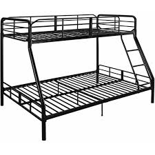 Twin Over Full Metal Bunk Bed W Ladder Kids Bedroom Furniture - Metal bunk bed ladder