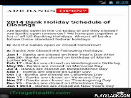 bank hours android app playslack are banks open in the us