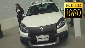 renault sandero stepway 2013 fotos renault sandero stepway 2013 slideshow full hd youtube