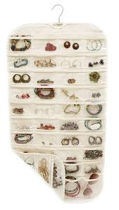 Jewelry Wall Hanger Amazon Com Closet Complete Canvas Ultra 80 Pocket Hanging Jewelry