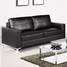 Leather Sofa Beds Uk Sale Black Leather Couches Furniture Med Art Home Design Posters