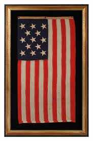 Brooklyn Flag Jeff Bridgman Antique Flags And Painted Furniture 13 Stars A Us