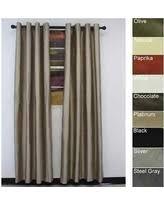 Lined Grommet Curtain Panels Sale Alert Dupioni Silk Curtain Panels Deals