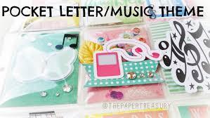 pocket letter tutorial music theme youtube