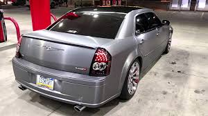 2006 chrysler 300 srt8 vinyl wrap completion youtube