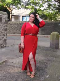 when in doubt wear red curve fashion fest u002716 with boohoo plus