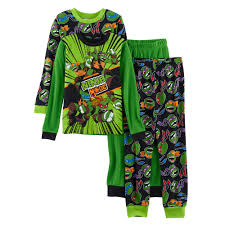 4 10 teenage mutant ninja turtles 4 piece pajama