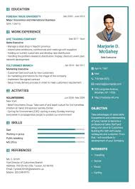 impressive resume templates professional resumecv templates topcv impressive resume templates