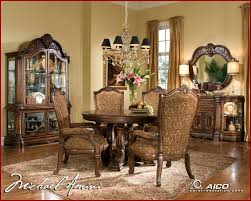 Windsor Dining Room Chairs Buy Windsor Court Dining Room Set By Aico From Www Mmfurniture Com