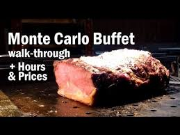 Treasure Island Buffet Price by Monte Carlo Vegas Buffet Lunch Hours U0026 Prices Youtube