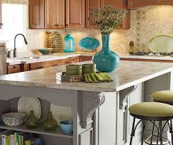 kitchen island cherry cherry cabinets with a gray kitchen island schrock