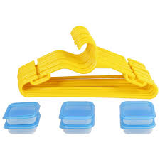 Clothes Storage Containers by Gluman 18 Pc Clothes Hangers U0026 Plastic Kitchen Storage Containers