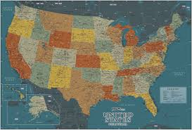 United States Wall Map by New Century Usa Wall Map Relief Maps Com Solutions