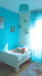 chambre bleu enfant chambre bleue lagon