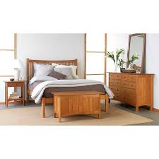 Solid Ash Bedroom Furniture by Vermont Made Shaker Blanket Chest Solid Hardwood Natural Finish