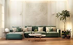 living room design 3d visualization on behance
