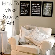 so very merry page 4 of 5 how to make your own subway art