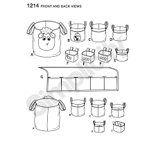 simplicity home decor pattern for organizers simplicity
