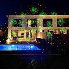 christmas christmas light projectors white snowflakes