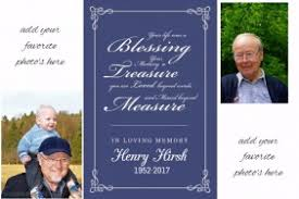 customizable design templates for funeral postermywall