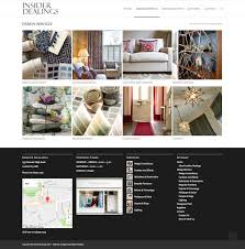 insider dealings u0027 website design walton creative