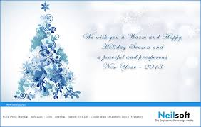merry christmas and a happy new year 2013 neilsoft