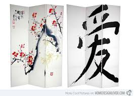 Decorative Wall Dividers 15 Asian Themed Screens And Wall Dividers Home Design Lover