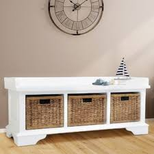 Wooden Storage Bench Maryellen Wood Storage Bench By Darby Home Co Compare Price
