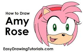 to draw amy rose