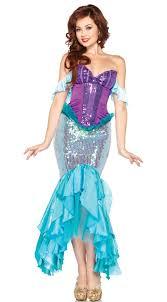 Exotic Halloween Costumes Frete Grátis Lantejoulas Undersea Mermaid Ariel Costume