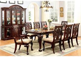 furniture fashions petersburg l rectangle cherry dining table w 1