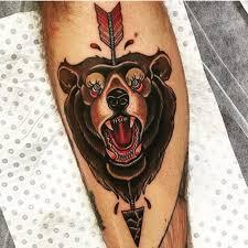 best 25 bear tattoo meaning ideas on pinterest bear tattoos