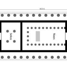 floor plan of the parthenon 1 floor plan of the temple of epicurius apollo επικουριοσ απολλων