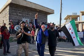 Rebel Syrian Flag Syrian Opposition Says Government Wrecking Truce Deal World