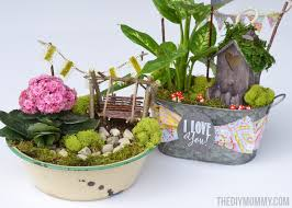 Garden Gift Ideas Mini Garden In A Tin Gift Handmade S Day Gift Ideas
