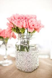 jar table decorations wedding theme glitter vase jars for table decorations 2064454