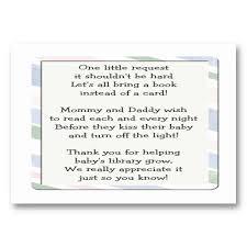 book instead of card baby shower poem 29 best baby shower book instead of card images on