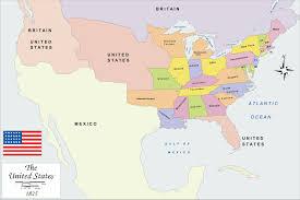 map usa big history map usa 1825 big size