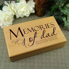 engraved memory box memories of memory box memorial gift for loss of