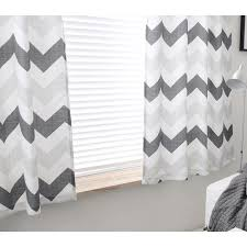 chevron funky extra wide custom window curtains