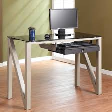 glass drafting table with light furniture gorgeous ikea glass office desk for home office design
